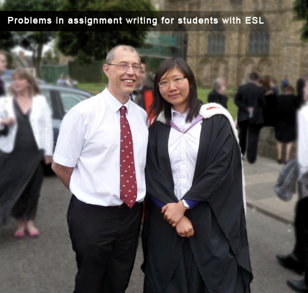 Problems in assignment writing for students with ESL
