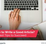 tips writing good article
