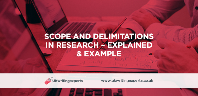 Scope and Delimitations i